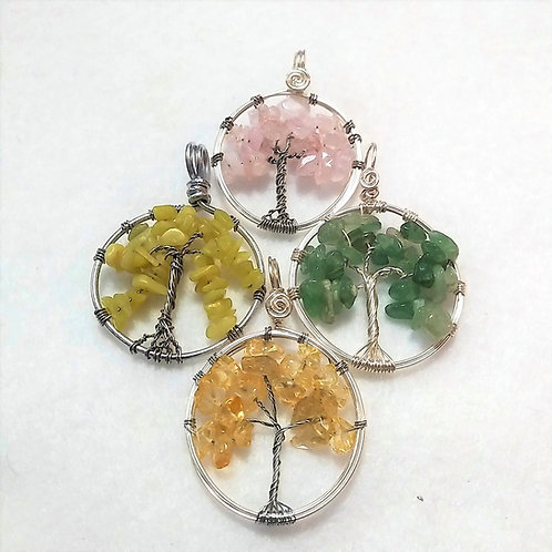 Tree of Life Pendants Chain Included