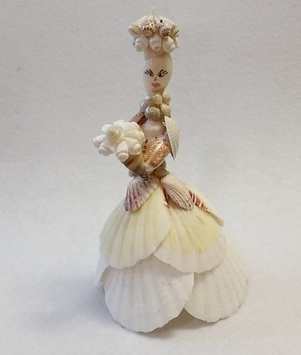 Shell Art | Shell People | MADE TO ORDER | Freestanding Shell Statue