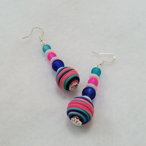 Color POP Earrings by Earth's Natural Art and Jewelry