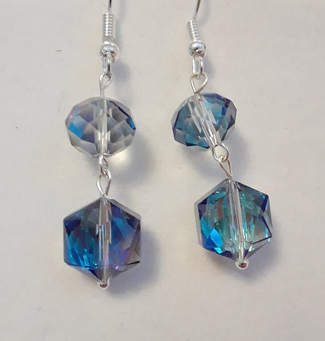 Crystal Iridescent Earrings | Jewelry | Earrings