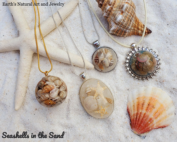 Natural Ocean Jewelry | Seashell Necklace | Starfish | Shells