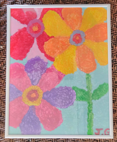 Summer Blur 3 of 3 | Painting | Artist Jena B (1)