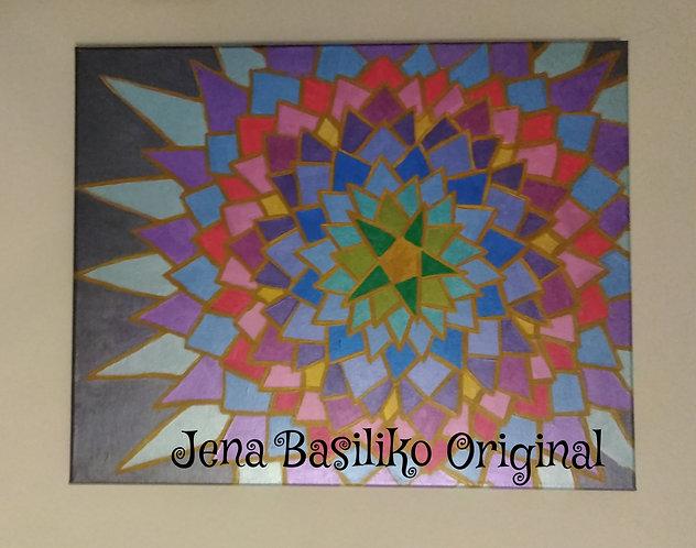 Za-Star– An Original Acrylic Painting