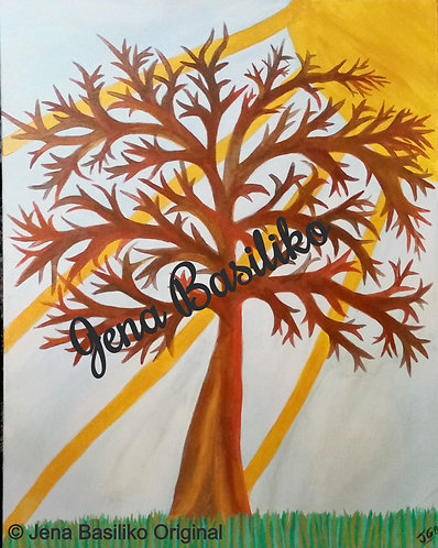 Sunshine Smile | Painting | Artist Jena B | 22 x 28 inch Signed Original