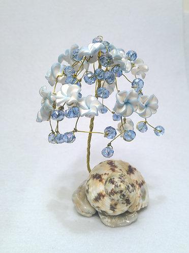 Light Blue Wire Tree | Tree of Life | Flower Tree (1)