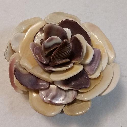 East Coast Shell Flower | Shell Art | Paperweight