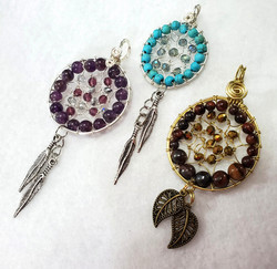 Dreamcatcher Pendants