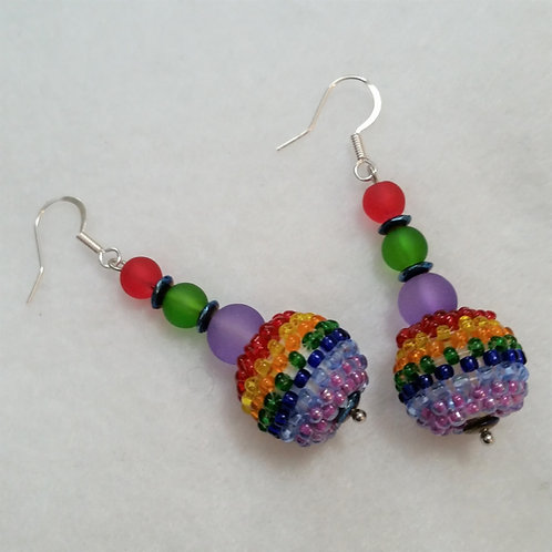 Color POP 2 Earrings by Earth's Natural Art and Jewelry