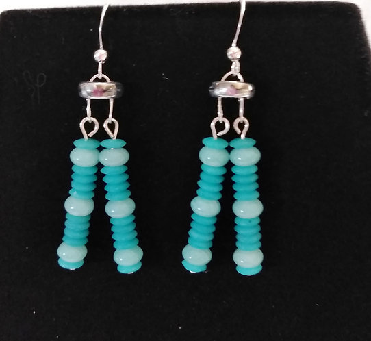 Earrings | Blue | Set | Jewelry