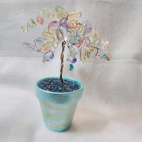 Rainbow Tree of Life | Colorful | Wire Tree | Earth's Natural Art and Jewelry (1)