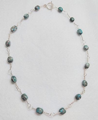 Necklace | Blue Stone | Jewelry