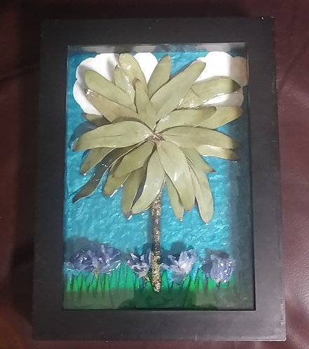Earth Art | Framed Natural Art | 6 x 8 inches