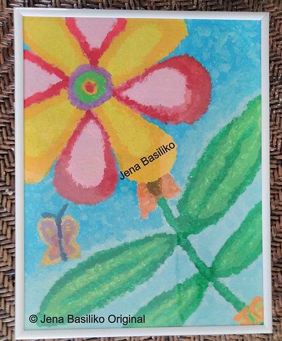 Summer Blur 2 of 3 | Paintings | Artist Jena B