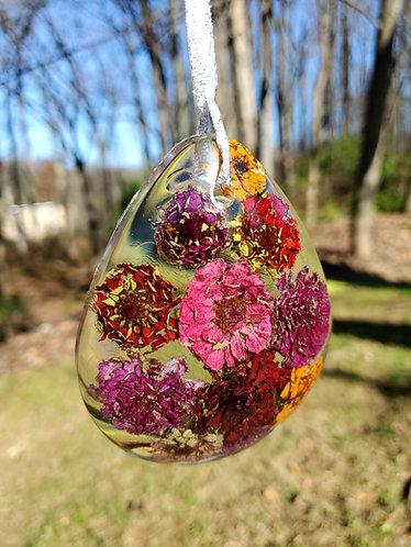 Colorful Teardrop Floral Home Décor