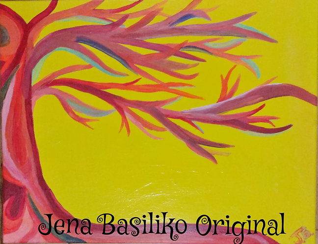 Color Blast | Original Acrylic Painting | Artist Jena (1)
