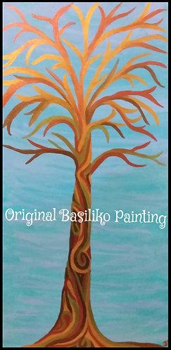 Tall Tree   Painting   Artist Jena B   Signed Original