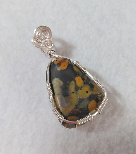 Jasper | Cherry Creek | Wire Wrapped | Earth's Natural Art and Jewelry