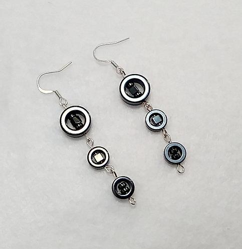 Hematite Hematite Hematite Earrings
