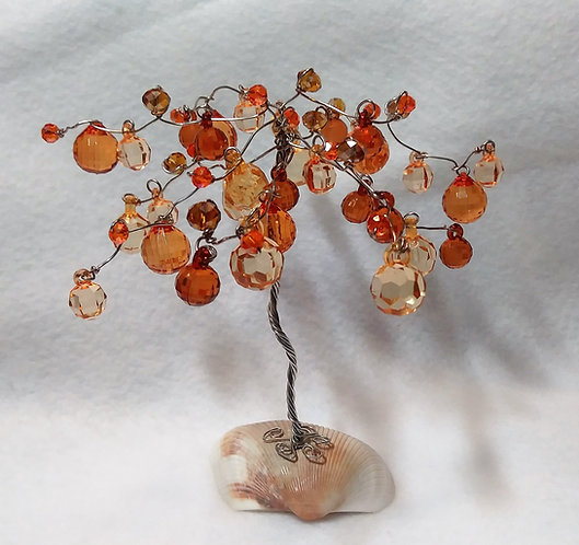 Orange Tree of Life | Earth's Natural Art and Jewelry
