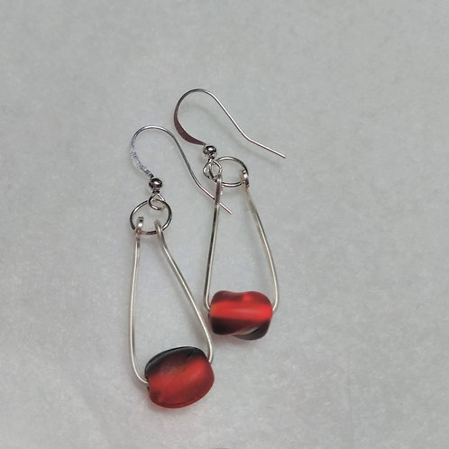 Earrings | Red | Jewelry
