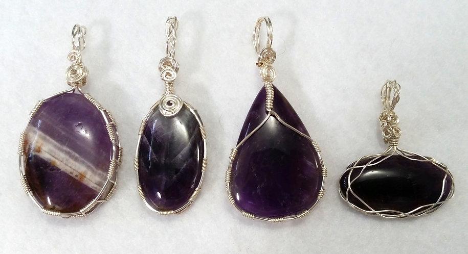 Amethyst Calming Gemstones | Jewelry