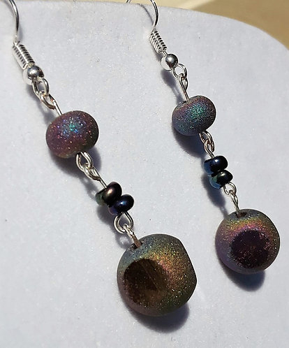 Earrings | Drop Glass Earrings | Jewelry