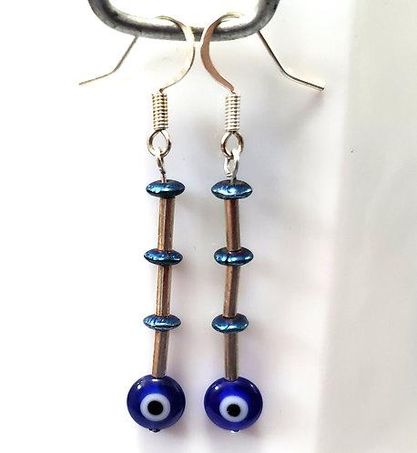 Evil Eye Earrings | Protection
