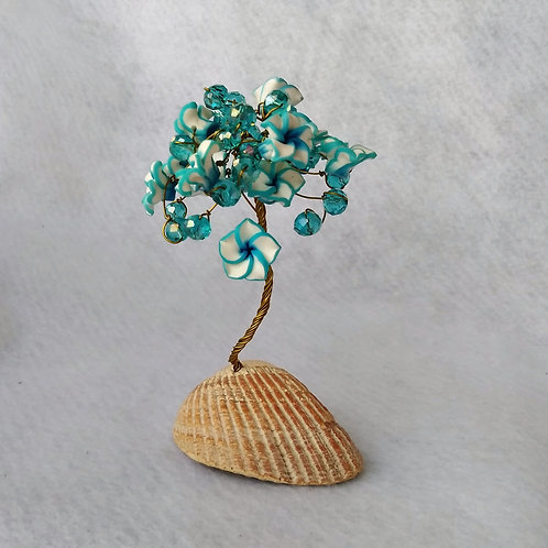 Blue Flower Tree of Life | Made to order