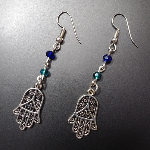 Hamsa Hand | Earrings