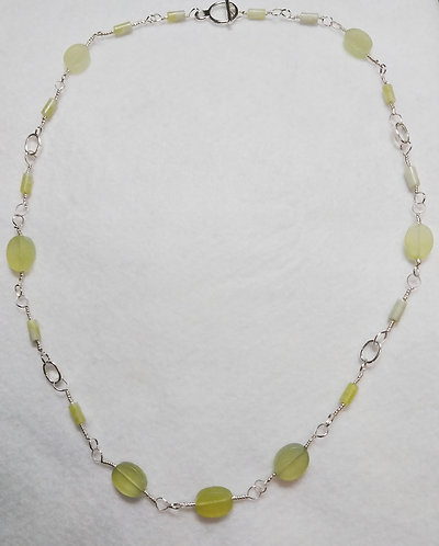 Necklace | Green Stone | Set | Jewelry