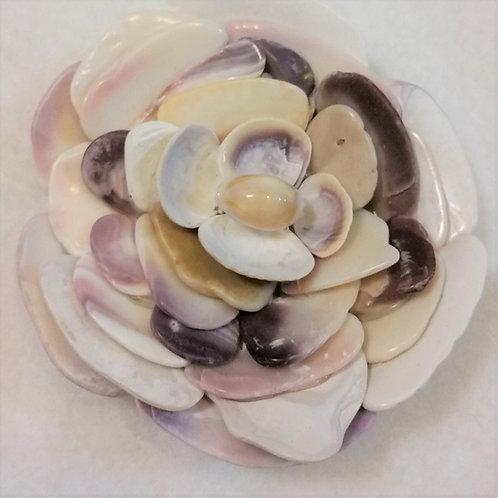 Shell Flower | Quahog | Shell Art | Paperweight
