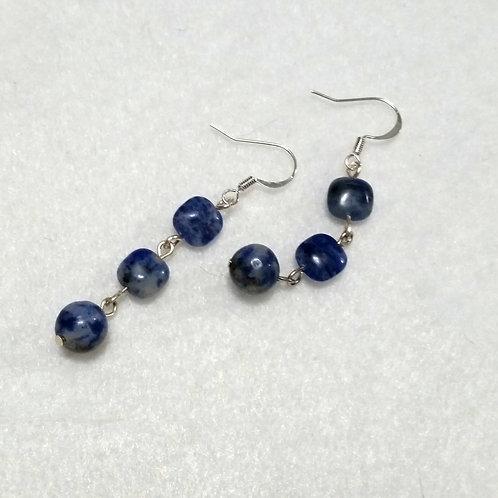 Sodalite Calming Gemstone Earrings
