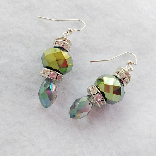 Iridescent Ice-cream Cone Earrings | Jewelry | Silver