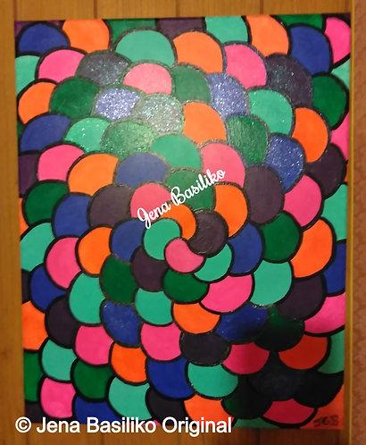 Box Canvas | Original Signed Painting by Jena Basiliko