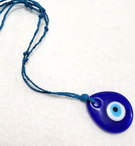 Evil Eye Necklace   Adjustable
