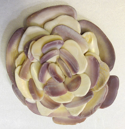 Large Shell Flower | Paperweight