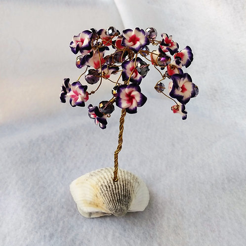 Purple Wire Tree | Earth's Natural Art and Jewelry (back)