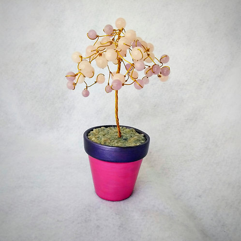 Cherry blossom Wire Tree of Life (1)