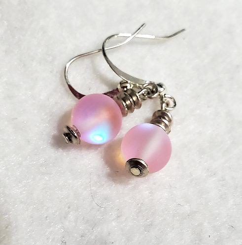 Pink Mystic Aura Earrings