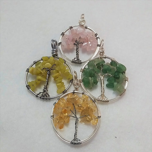 Tree of Life Pendants by Earth's Natural Art and Jewelry