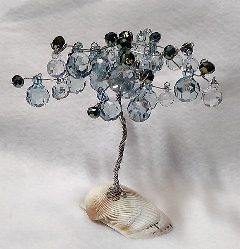 Tree of Life | Blue Leaf | Home Decor