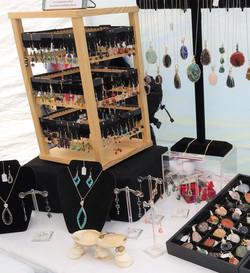 Earrings Made by Jena Basiliko