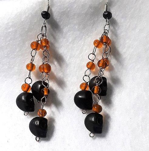 Halloween earrings | Sculls | Halloween Jewelry