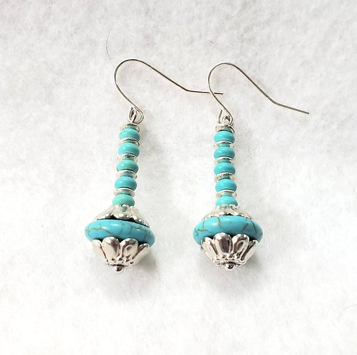 Turquoise Earrings | Earth's Natural Art and Jewelry
