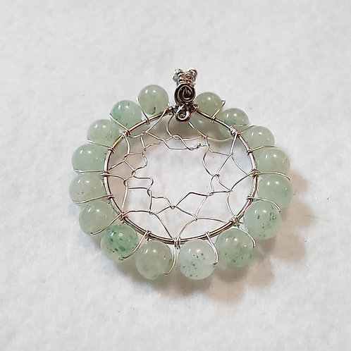 Dreamcatcher | LARGE | Green Aventurine