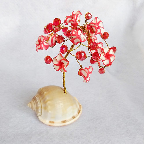 Red Flower Tree of Life | Wire Tree (1)