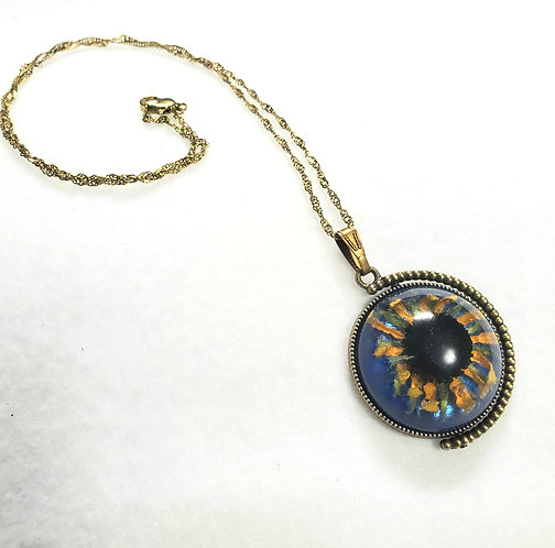 Black-eyed Susan Necklace