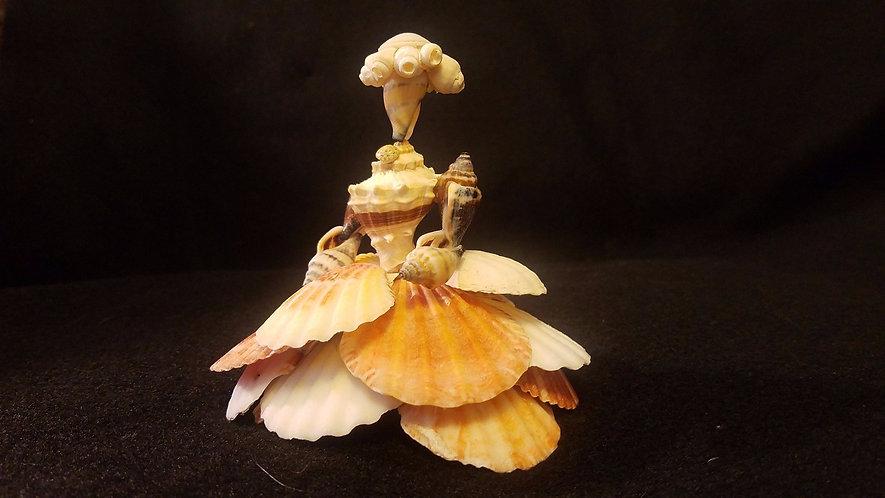 Shell people / novelty gift / seashell lover / beach decor / beach people