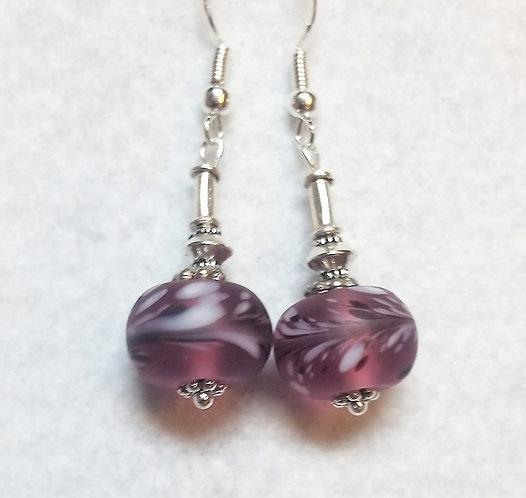Lampwork Earrings | Pink | Jewelry