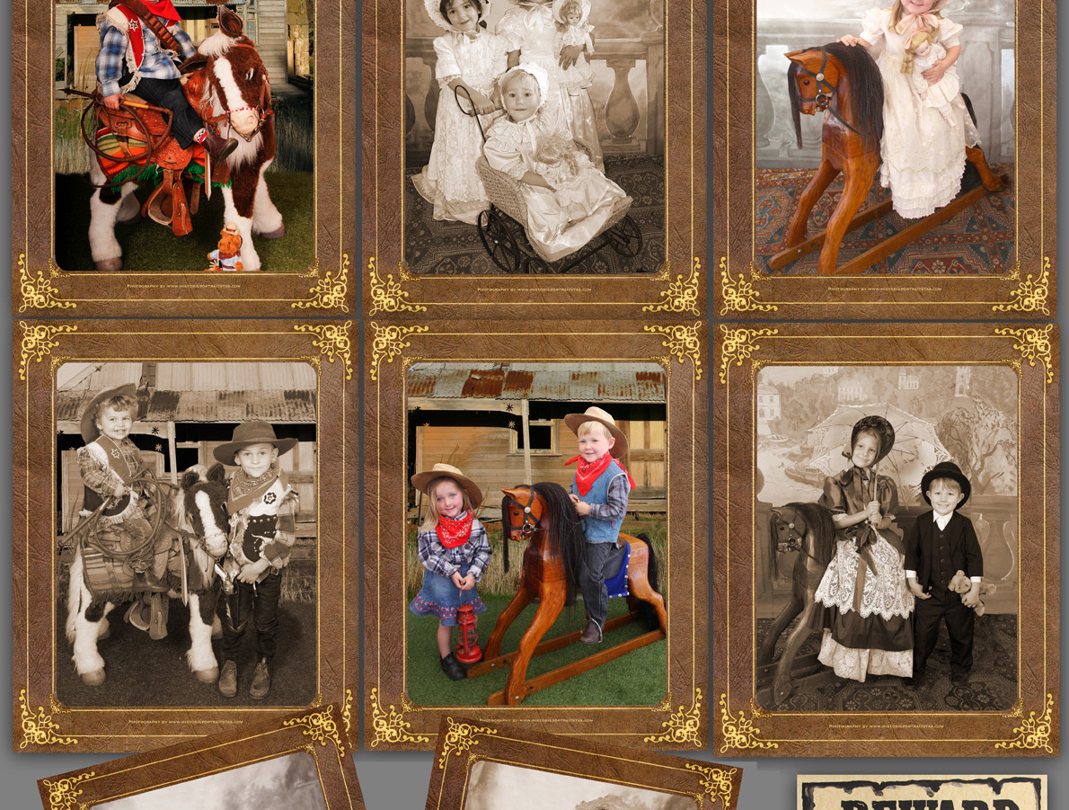 Childrens Olde Time Portraits